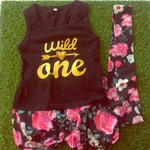 Other - Wild One 3 pc Outfit